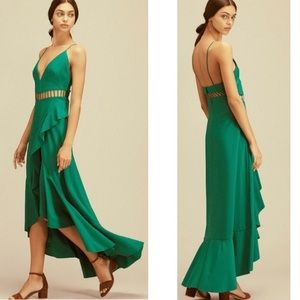 NWOT Free People Jet Stream Maxi Dress